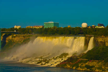 Niagara Falls in the daytime (The Horseshoe Falls)
