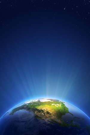 Earth Radiant Light Series 스톡 콘텐츠