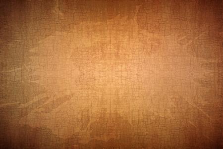 지저분한 스테인드 및 금이 골동품 갈색 종이 배경 텍스처 스톡 콘텐츠