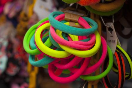 kleurrijke rubberen band