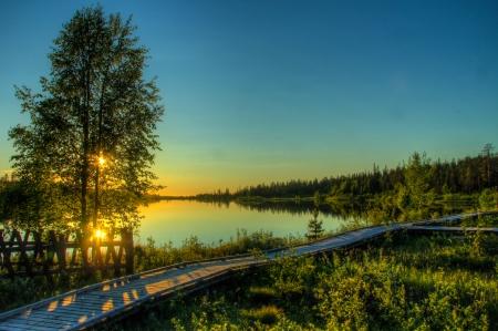 Lake Salla, Salla Finland Stock Photo - 15855562
