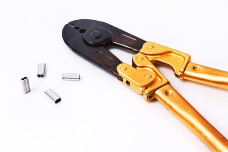 Pliers tool (isolated on white) Stock Photo - 11585876