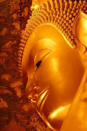Buddha in Wat Pho , Bangkok , thailand photo