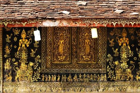 Wat Xieng Thong, Luang Prabang, Laos  Stock Photo