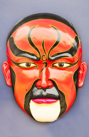 Chinese traditional opera facial painting  photo