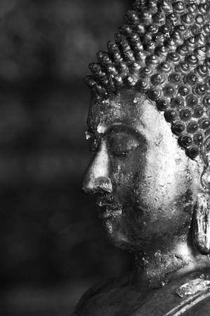 Ancient Buddha face,nan,thailand