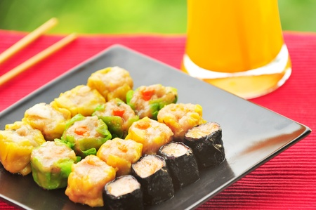 Chinese steamed dimsum traditional cuisine