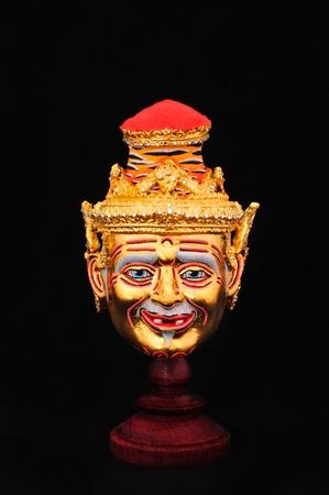 Native Thai style mask, Khon