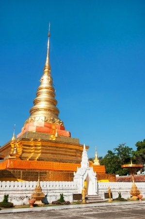 Phra That Chae Haeng, Nan province, Thailand Stock Photo - 12890282