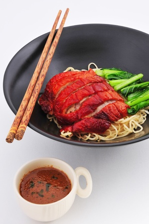 Roasted Duck nooddle with Sauce  chinese cuisine