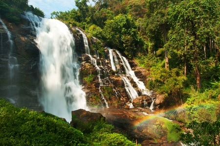 Wachiratarn waterfall in Thailand photo