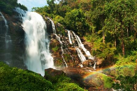 Wachiratarn waterfall in Thailand photo