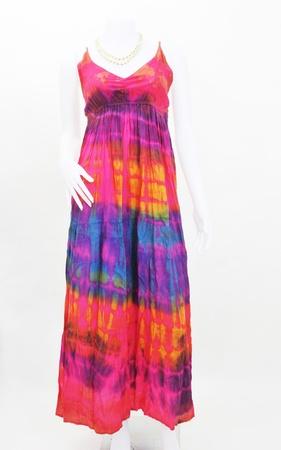 fashion maxi dress on mannequin Stock Photo - 16655397