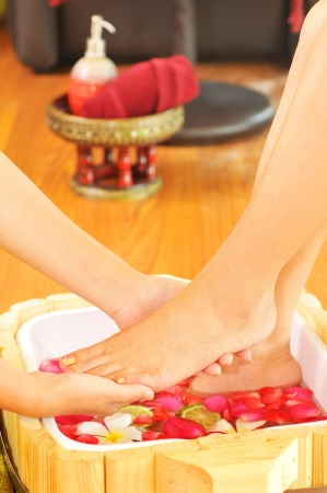 Spa Foot massage photo