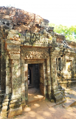 Vat Phou  Wat Phu  temple The ruined Khmer temple complex in southern Laos  Stock Photo - 17720863