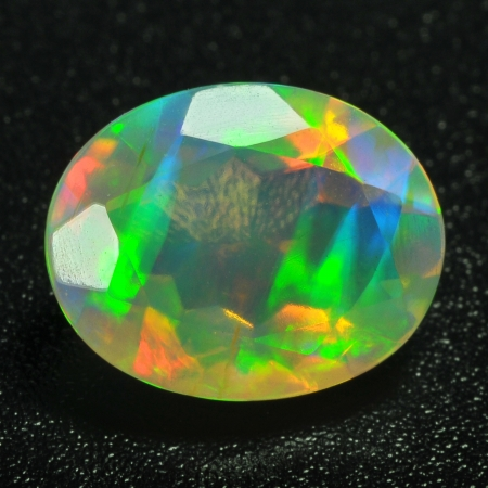 opal: Opal Jewel isolated against a black background  Stock Photo