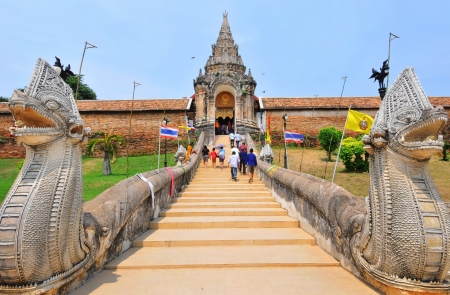 ancient near east: Arch Phra That Lampang Luang Thailand