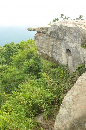 Pah Hum Hod Cliff in Chaiyaphum Province Northeast of Thailand   photo