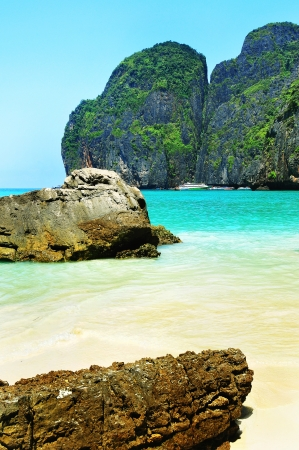 Maya bay of Phi-Phi island,Krabi,Thaila nd photo