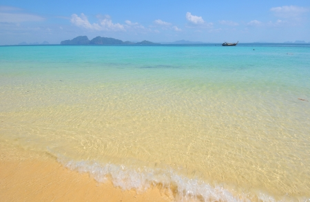 beautiful Island , Andaman sea , Trang in South of Thailand  photo