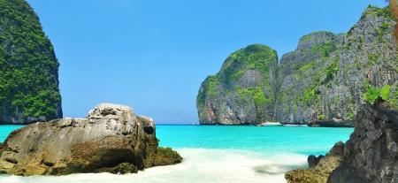Maya bay of Phi-Phi island,Krabi,Thailand