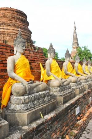 ayuttaya: Old Temple of Ayuthaya, Thailand