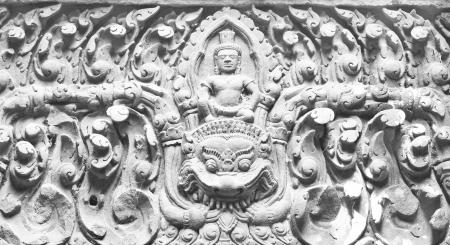lintel: Lintel of Upper Level Sanctuary at Wat Phu in Champasak, Laos