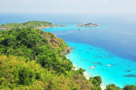 Tropical beach, Similan Islands, Andaman Sea, Thailand  photo