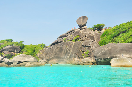 Similan Island , PhangNga Province Thailand  photo