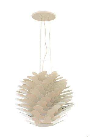 irradiate: A modern lamp made out of multiple plastic