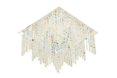 chandelier isolated: Luxury Chandelier isolated on white