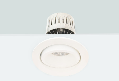 recessed: Downlight Stock Photo
