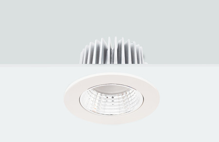 Downlight Stock Photo