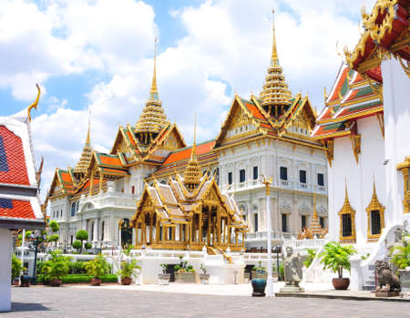 day time: Grand Palace Bangkok Thailand in day time