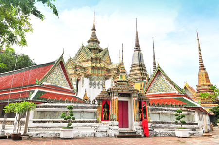 Wat Pho, Buddhist temple in Phra Nakhon district, Bangkok, Thailand