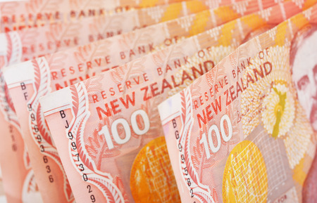 New Zealand One Hundred Dollar Closeup photo