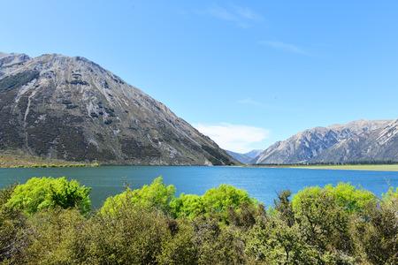 newzealand: Lake Peason in Newzealand