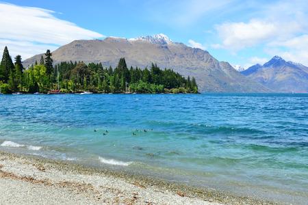 wakatipu: Lake Wakatipu, New Zealand