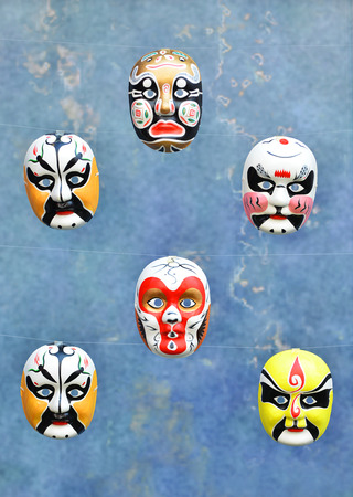facial painting: collection of the chinese traditional opera facial painting