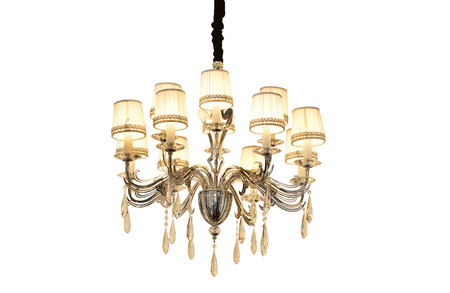 chandelier isolated: Vintage Chandelier