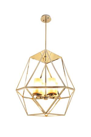 Beautiful of gold ceiling lamp