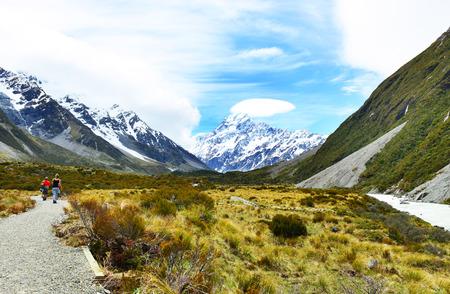 newzealand: Aoraki Mount Cook National Park