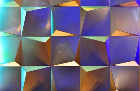 shiny metal: Design square color background Stock Photo