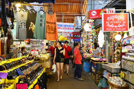 BANGKOK, THAILAND - APRIL 17 : View of Home decor shop at Jatujak Market on April 17, 2016 in Bangkok, Thailand. Jatujak Market is the largest market in Thailand.