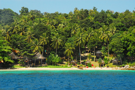 ko: Beach of Bamboo Island (Ko Phai ) Thailand.