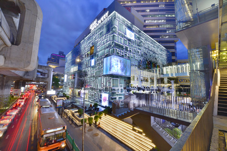 BANGKOK - JUNE 30 2016:New Siam Discovery department store after renovated in new interior design. It is The new largest shopping mall in the center of Bangkok. shopping mall in Thailand