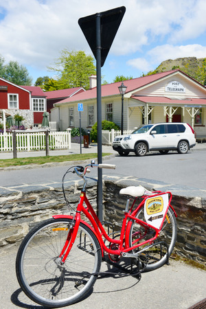 ARROWTOWN,NZ - Nov 17:Arrowtown on Nov 17 2014.Its a popular travel destination with well preserved buildings used by European and Chinese immigrants dating from the gold mining days of the town. Editorial
