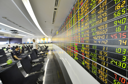 Economic conditions of the Stock Exchange of Thailand