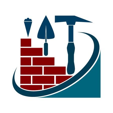 fermo: Design per il settore delle costruzioni, strumenti di costruzione Vettoriali