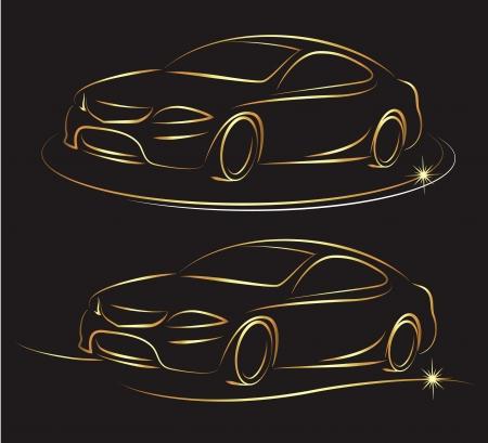 silhouette voiture: Conception pour les entreprises de l'automobile